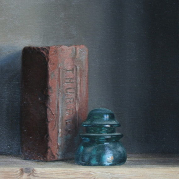 Insulator by K. Hamilton; oil on canvas